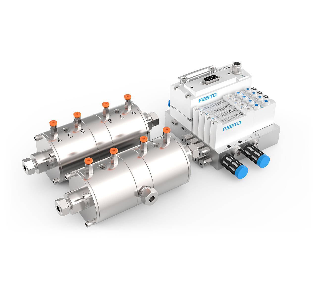 CETONI pneumatic high pressure valve