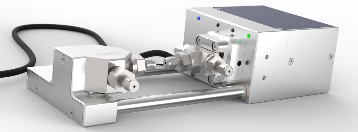 High pressure Contiflow ball valve flat