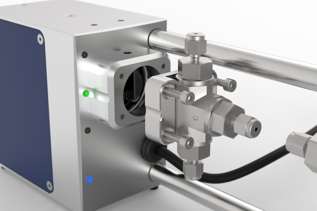 exchangeable ball valve CETONI high pressure ball valve