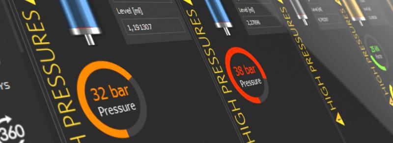 CETONI Elements pressure indicator