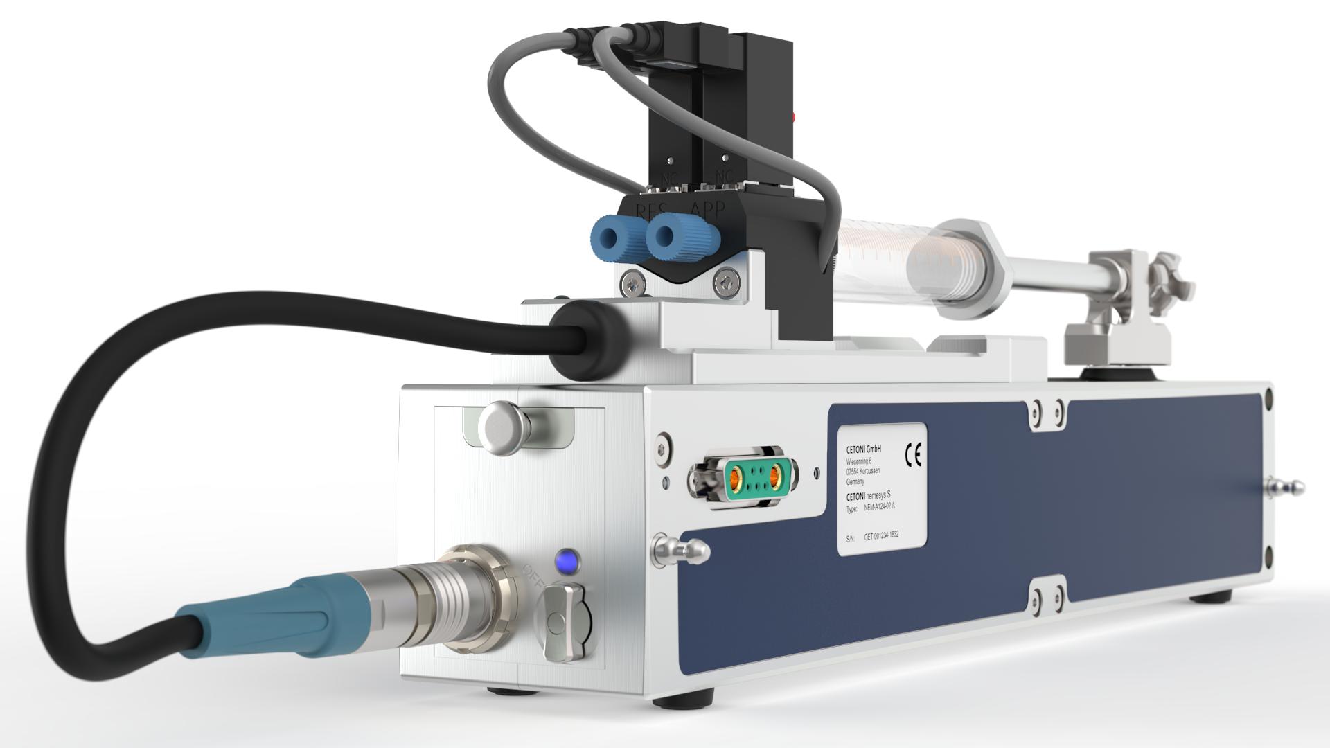 Contiflow valve for Nemesys S